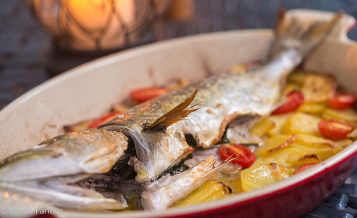 Baked Fish with Potatoes