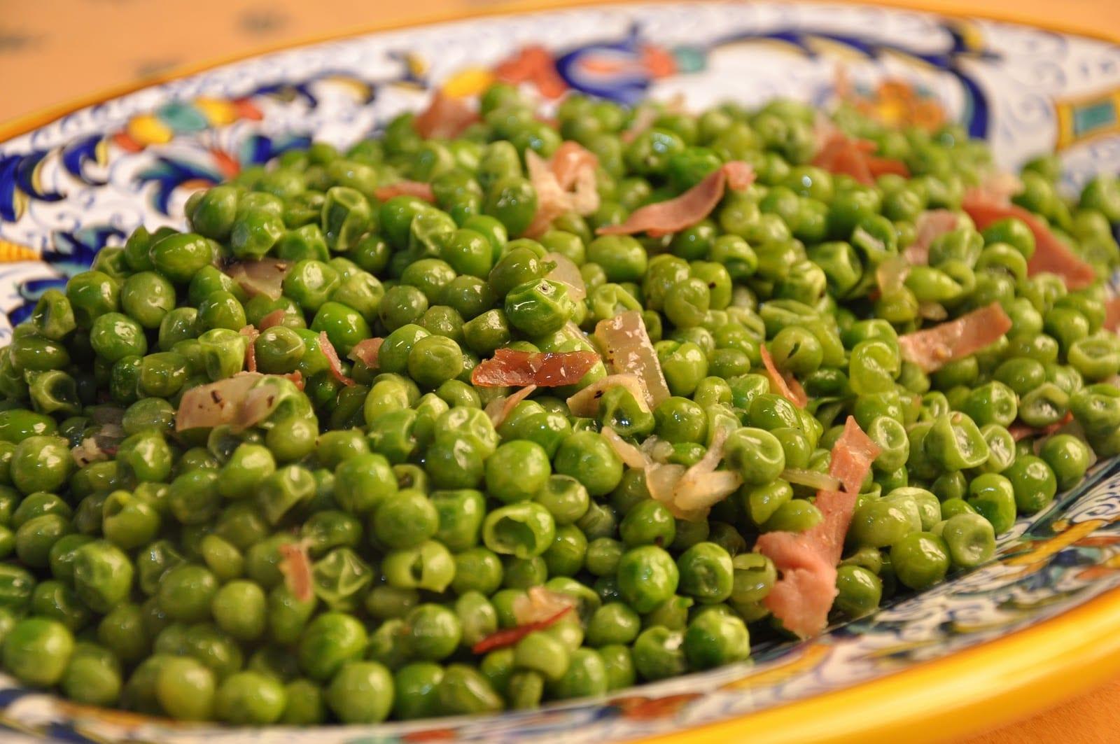 Piselli alla romana (Roman-Style Peas)