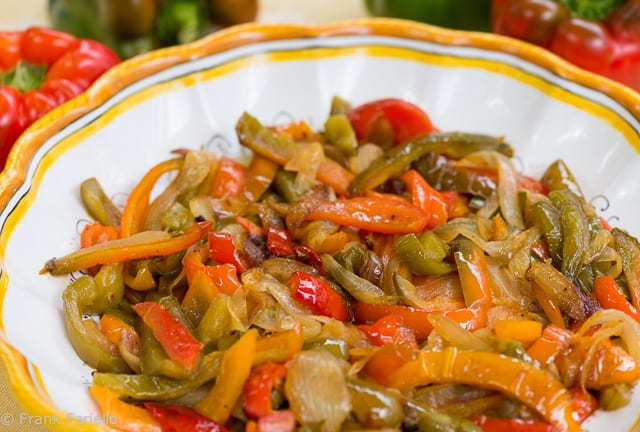 Peperonata (Angelina's Fried Peppers)