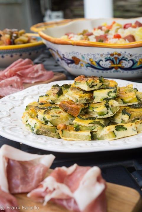 Frittata al forno con zucchine (Baked Frittata with Zucchini)