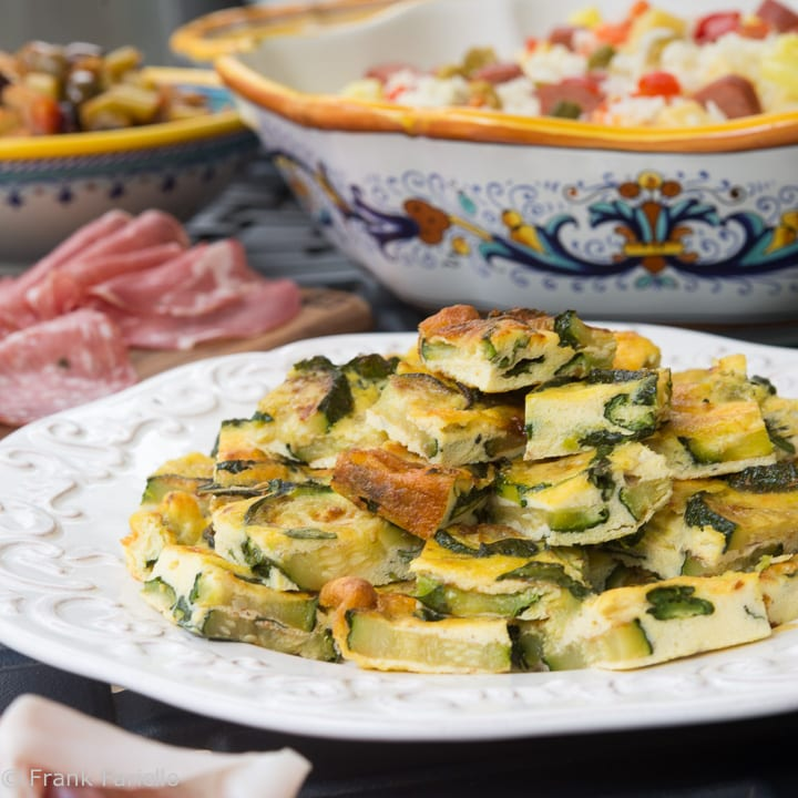 Baked Frittata with Zucchini