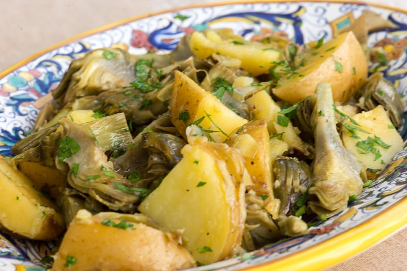 Artichokes and Potatoes