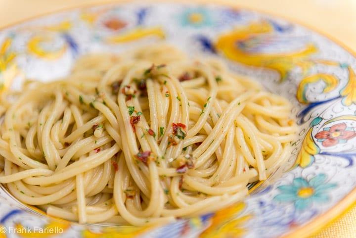 Spaghetti alla colatura di alici