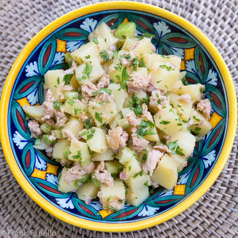 Insalata di patate e tonno (Potato Tuna Salad)