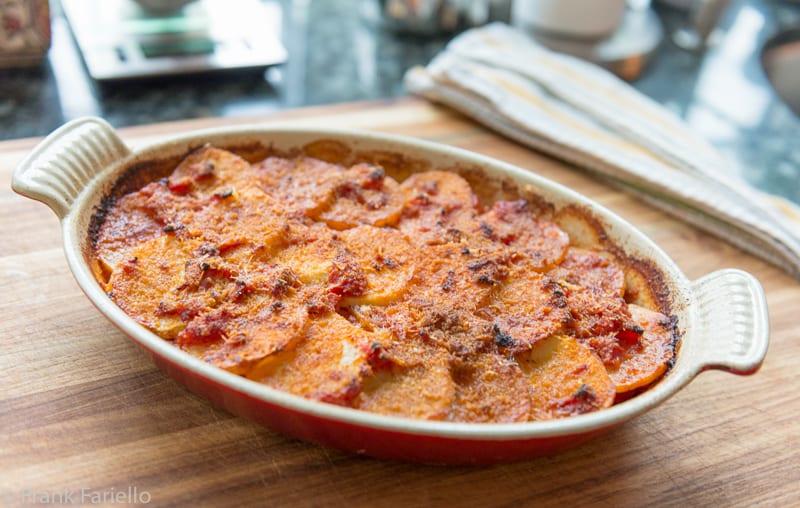Patate alla lucana (Basilicata Potato Casserole)