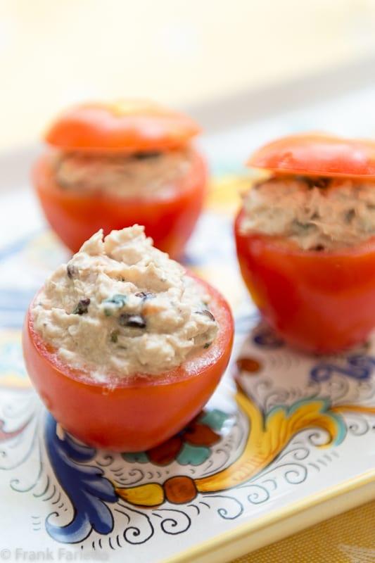 Pomodori ripieni di tonno (Tuna Stuffed Tomatoes)