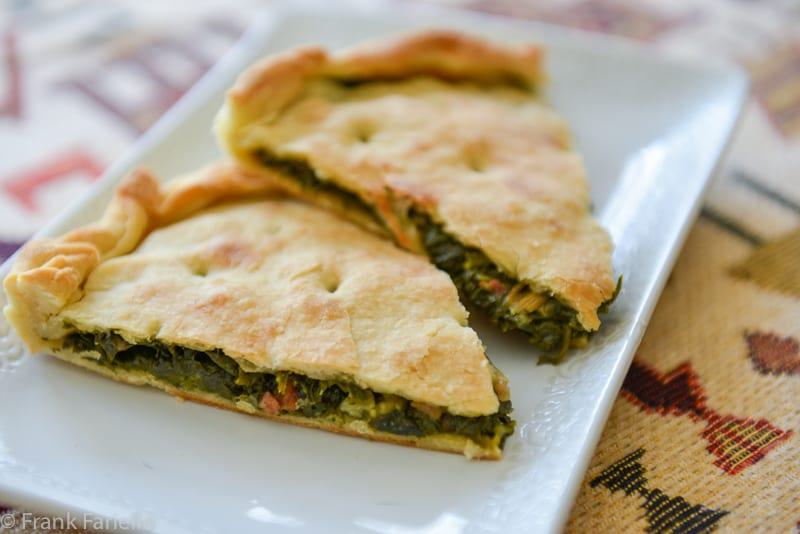 Erbazzone Savory Greens Pie Memorie Di Angelina