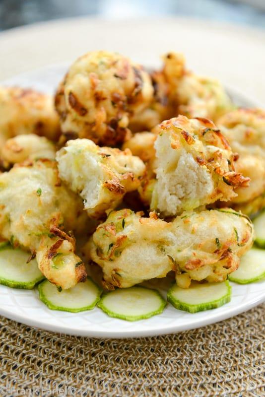 Pasta cresciuta con le zucchine (Zucchini Fritters)