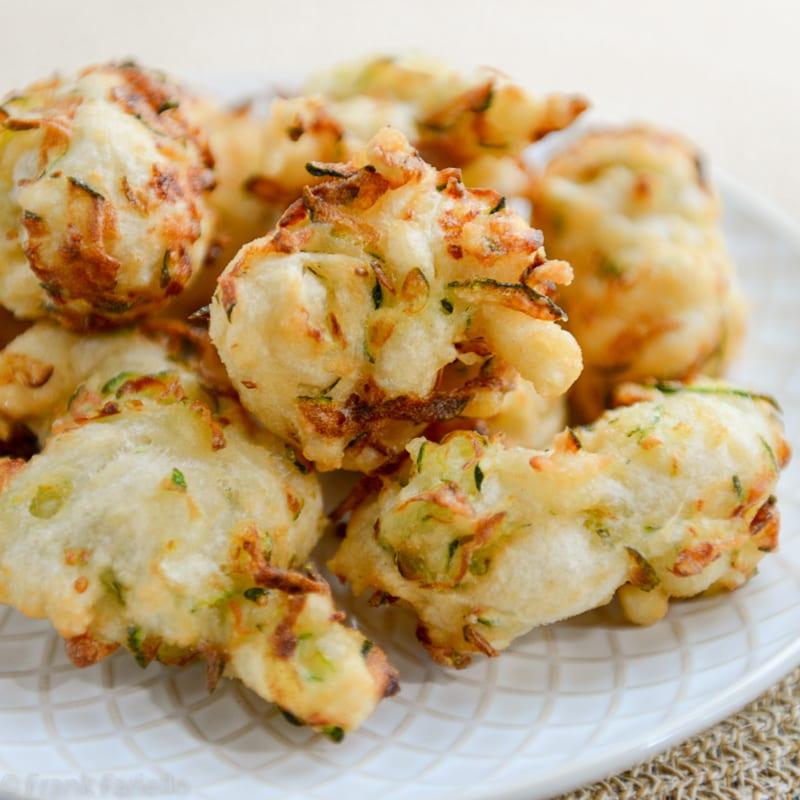 Pasta cresciuta con zucchine (Zucchini Fritters)