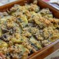 Patate e funghi al forno (Potato and Mushroom Casserole)