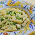 Pasta con zucchine e ricotta (Pasta with Zucchini and Ricotta)