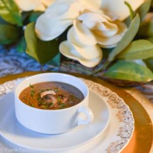 Crema di lenticchie ai funghi trifolati