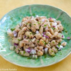 Fagioli e tonno (White Bean and Tuna Salad)