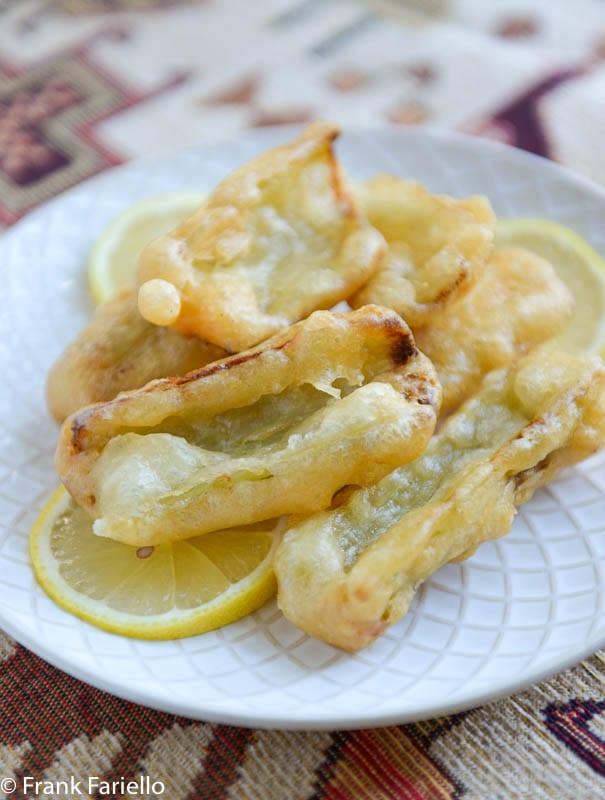Cardi fritti (Cardoon Fritters)