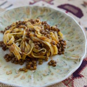 Ragù di lenticchie (Lentil Ragù)
