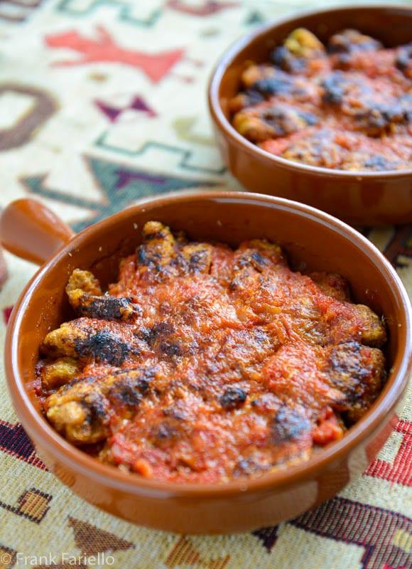 Carciofi alla parmigiana (Artichoke Parmesan)